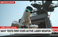 US-''Laser Weapon System'' (LaWS): Heiße Luft