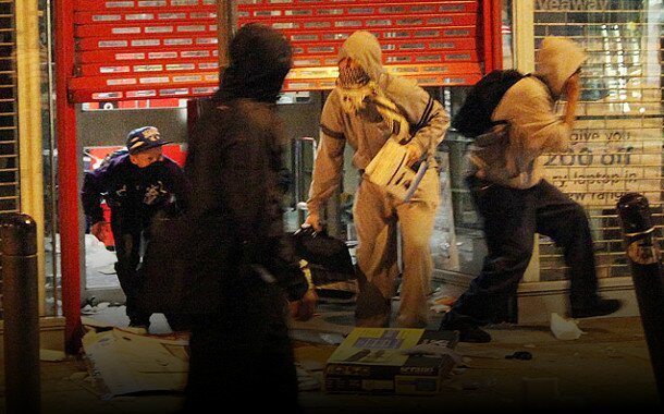 riots looters